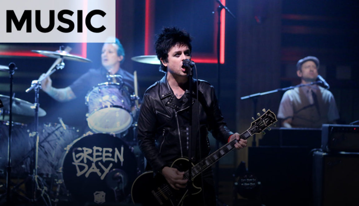 VIDEO: Green Day: Bang Bang – The Tonight Show