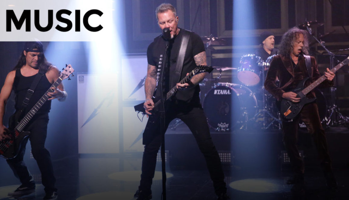 VIDEO: Metallica: Moth Into Flame – The Tonight Show