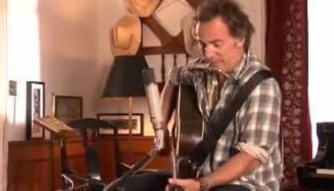 VIDEO: Bruce Springsteen – Ghost Of Tom Joad (Acoustic)