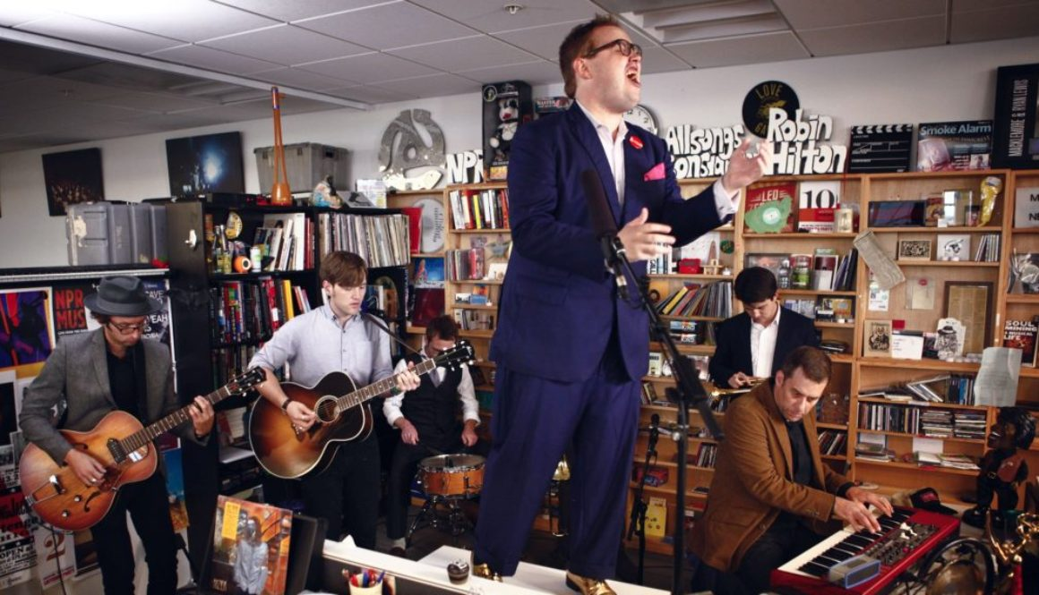 VIDEO:  St. Paul And The Broken Bones: NPR Music Tiny Desk