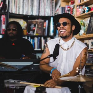 VIDEO: Anderson .Paak & The Free Nationals: NPR Music Tiny Desk Concert