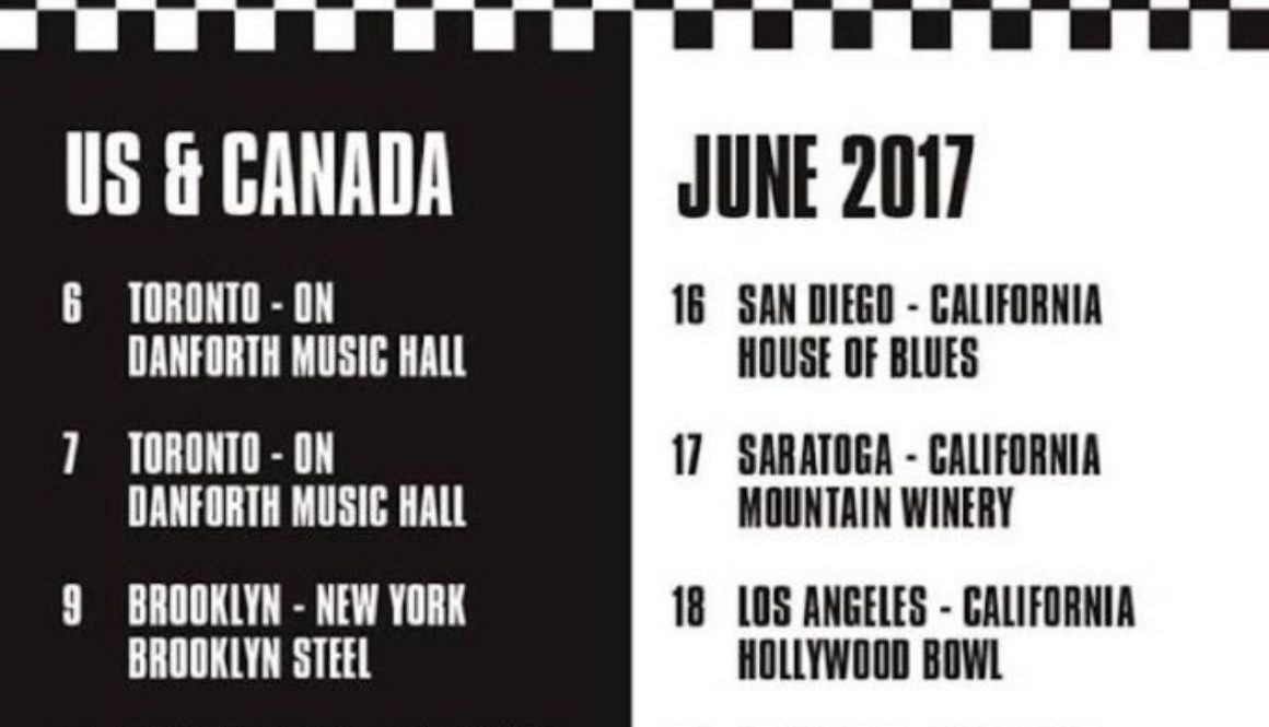 The Specials announce North American tour