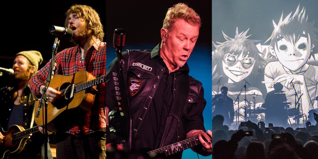 Outside Lands 2017: Gorillaz, Metallica, Fleet Foxes, Solange, Queens of the Stone Age, More