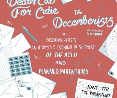 Death Cab for Cutie and The Decemberists to headline ACLU, Planned Parenthood benefit show
